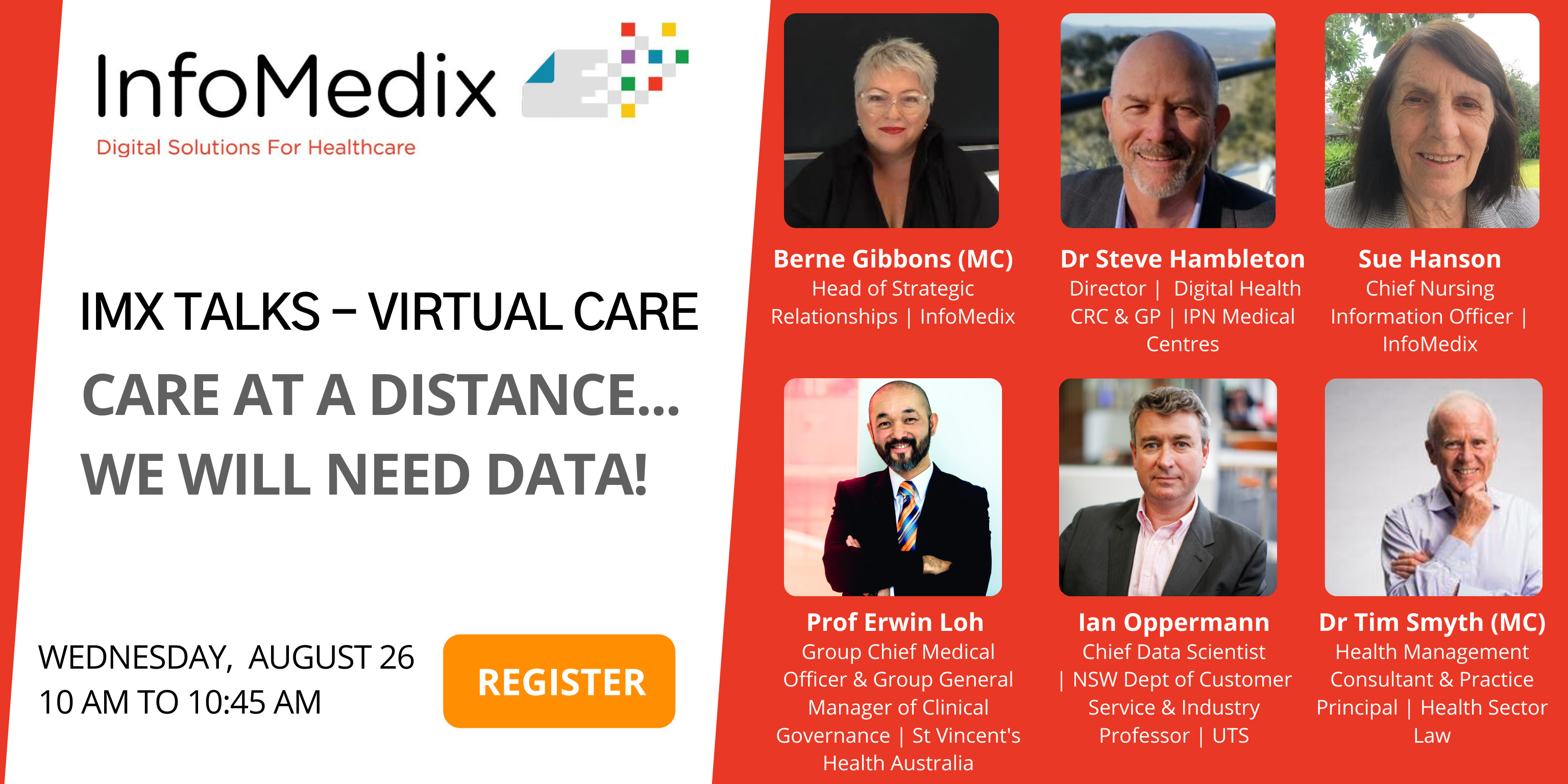 IMX Talks – Virtual Care. Join the online discussion