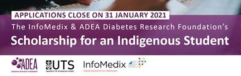 The InfoMedix & ADEA Diabetes Research Foundation's Scholarship for an Indigenous Student.
